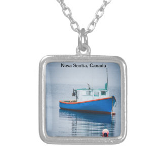 Small Blue Fishing Boat Jewelry