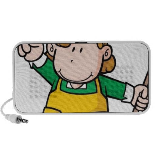 Small boy vector portable speakers