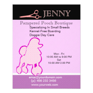 Small Breeds Kennel Doggie Day Care 11.5 Cm X 14 Cm Flyer