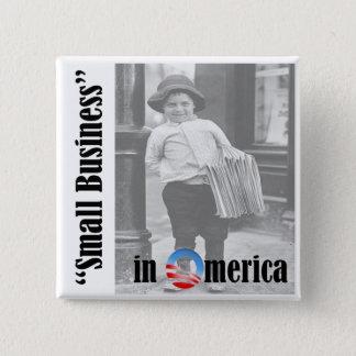 Small Business 15 Cm Square Badge