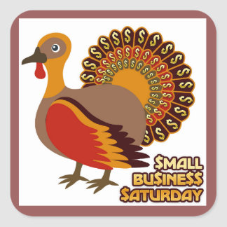 Small Business Saturday Stickers