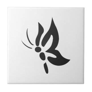 SMALL BUTTERFLY CERAMIC TILE