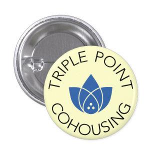 Small Button - Blue Logo