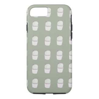 Small Cactus Plant Pattern iPhone 7 Case