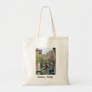 Small Canal in Venice, Italy Budget Tote Bag