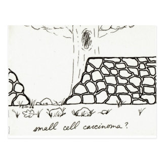 Small Cell Carcinoma postcard