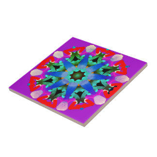 Small Ceramic Photo Tile