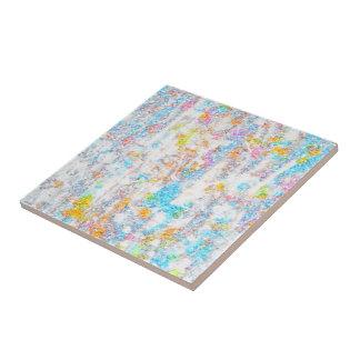 Small ceramic tile/ fresh colors tile