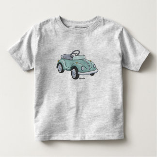 Small child t-shirt with a beetle staircase car