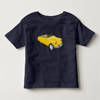 Small child t-shirt with Citroën D staircase car