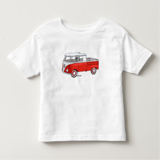 Small child t-shirt with vintage pickup staircase