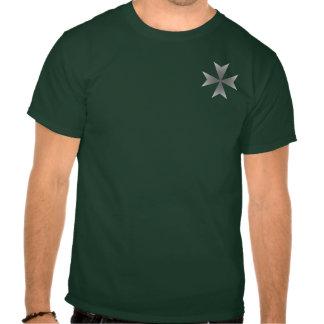 Small Chrome Maltese Cross Shirts
