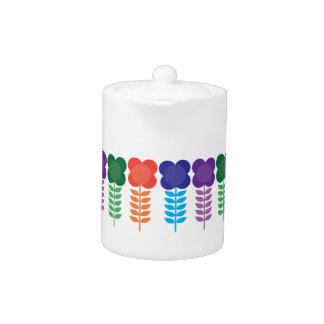 Small Colorblock Teapot