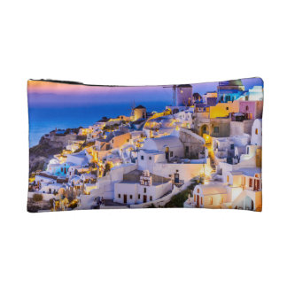 Small Cosmetic  Bag Oia, Santorini