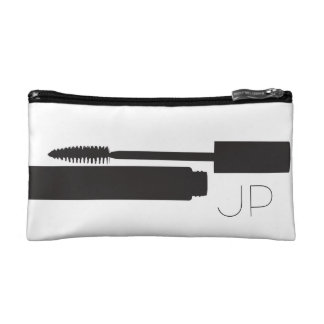 Small cosmetics bag - monogram initials