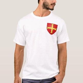 Small Crusader Coat of Arms (Style 3) T-Shirt