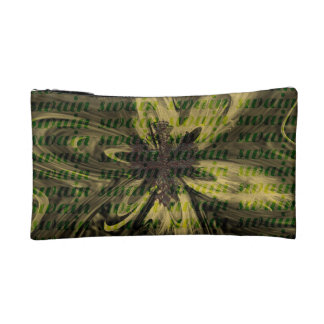 Small cultural bag - abstract sample cosmetic bags