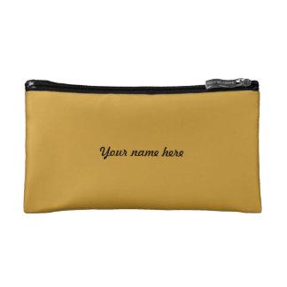 Small cultural bag golden - personalisierbar makeup bags