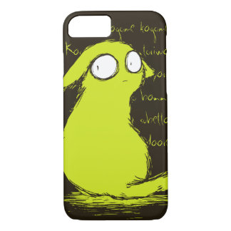 Small Cute Yellow-green Yokai Monster iPhone 7 Case