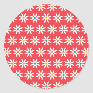 Small Daisy Dots II Stickers