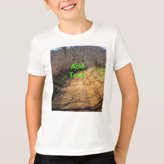 Small Dirt Country Road T-Shirt