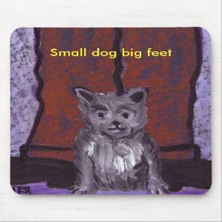 SMALL DOG BIG FEET MOUSEMAT