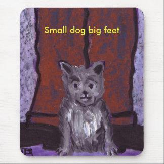 SMALL DOG BIG FEET MOUSE PAD