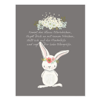 Small Easter greeting Postcard