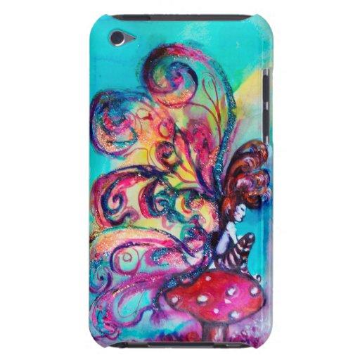 SMALL ELF OF MUSHROOMS iPod Case-Mate CASES