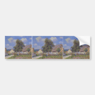 Small Farm at Vaudreuil by Gustave Loiseau Bumper Sticker