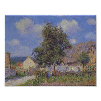 Small Farm at Vaudreuil by Gustave Loiseau Posters