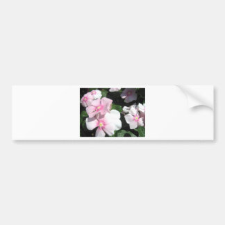 Small Flowers Bumper Stickers