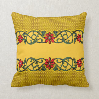 Small Flowers Throw Pillow Cushions