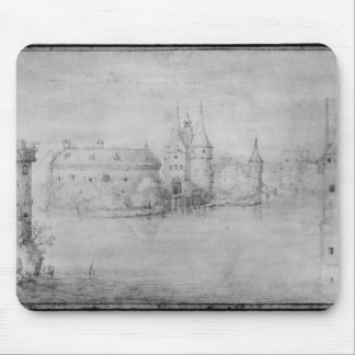 Small fortified island, Amsterdam, 1562 Mouse Mat