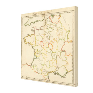 Small French Rivers Canvas Print