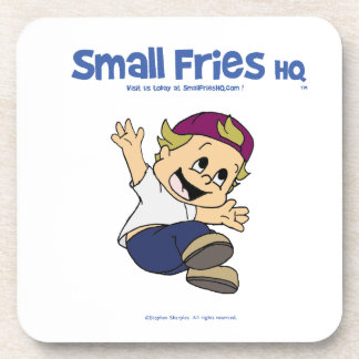 Small Fries HQ Albert Plastic Coaster
