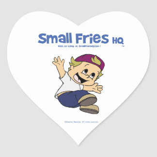Small Fries HQ Albert Sticker Heart