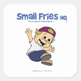 Small Fries HQ Albert Sticker Sq