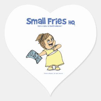 Small Fries HQ Angela Sticker Heart