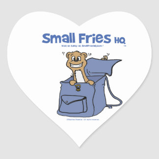 Small Fries HQ Heart Sticker