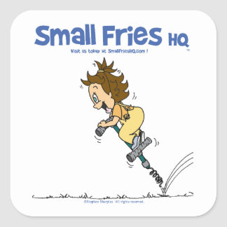 Small Fries HQ Kathy Sticker Sq