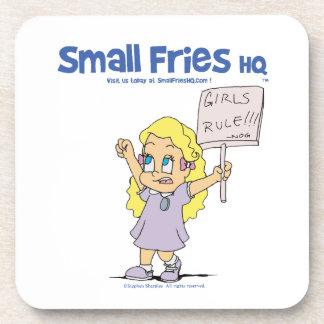 Small Fries HQ Ophelia Hard Plastic Coaster