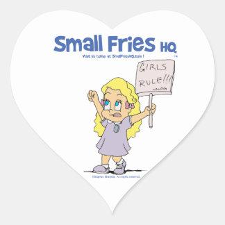 Small Fries HQ Ophelia Sticker Heart