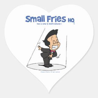 Small Fries HQ Oscar Sticker Heart