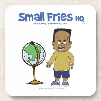 Small Fries HQ Raymond Plastic Coaster