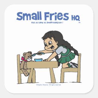 Small Fries HQ Rosita Sticker Sq