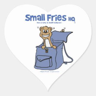 Small Fries HQ Sticker Heart