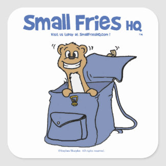 Small Fries HQ Sticker Square 01