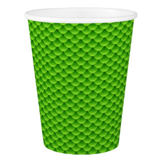 Small Green Fish Scale Pattern