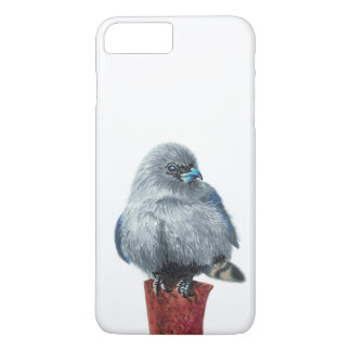 Small grey bird iPhone 8 plus/7 plus case